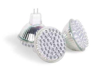 LED lamps, isolated