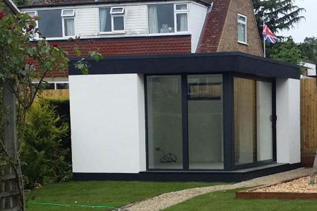 Black & White Garden Rooms by Garden Spaces-5