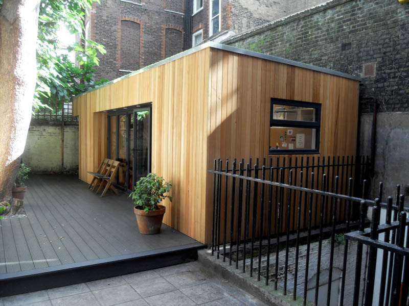 Visualise your garden office interior
