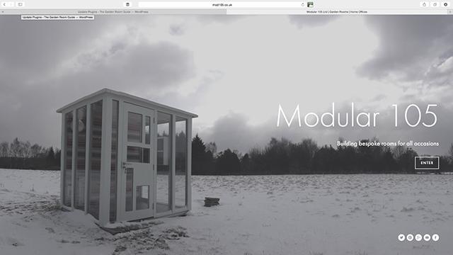 Mod105 website 1