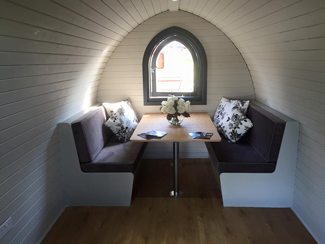 Bridge Garden Rooms Glamping Pod 1