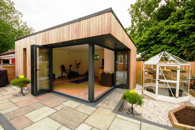 Home gym buildings by Swift Garden Rooms-4