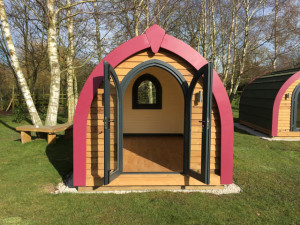 New Holiday Pods by Bridge Garden Rooms