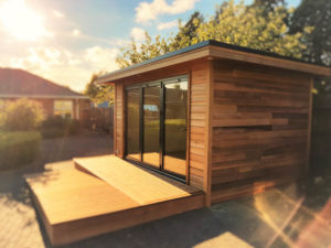 Garden rooms being used as NHS therapy & sensory suites