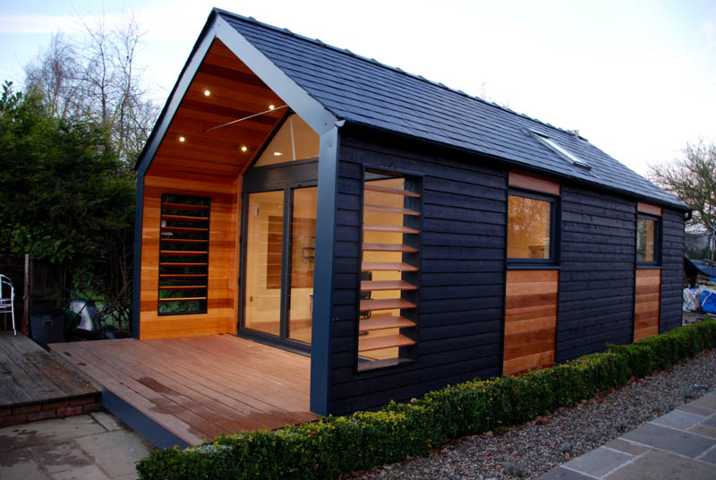 Pitched Roof Garden Office Amp Entertainment Space The