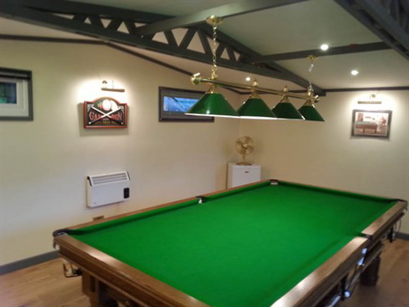 Snooker room by Extra Rooms