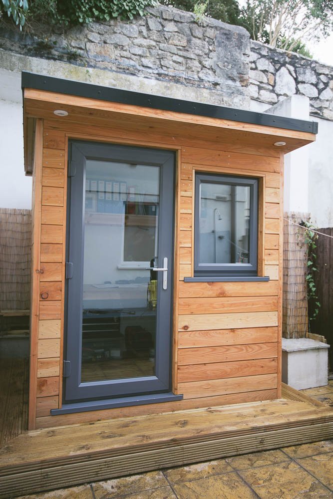Smallest garden room we've seen
