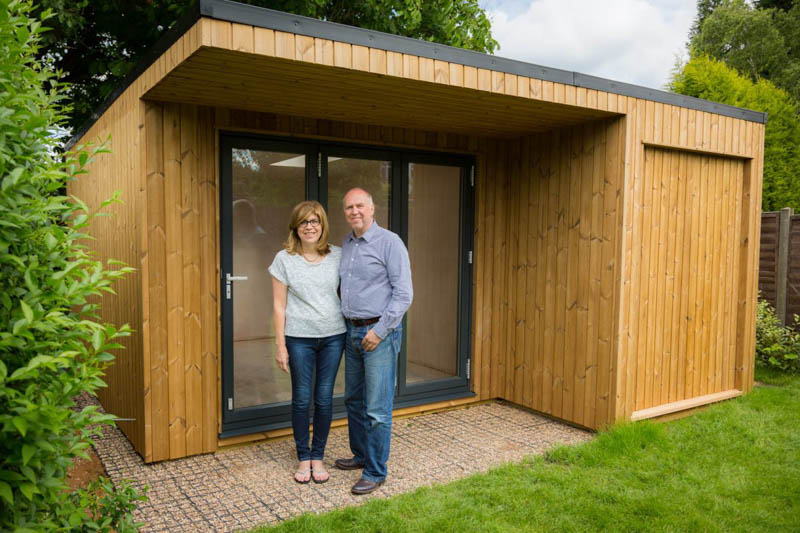 Tony & Sue are pleased with their new building