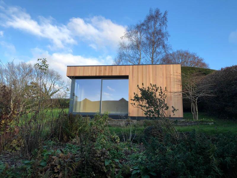 Garden studio built in a National Park