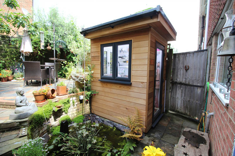 1.53m x 1.79m garden studio by Timber Rooms