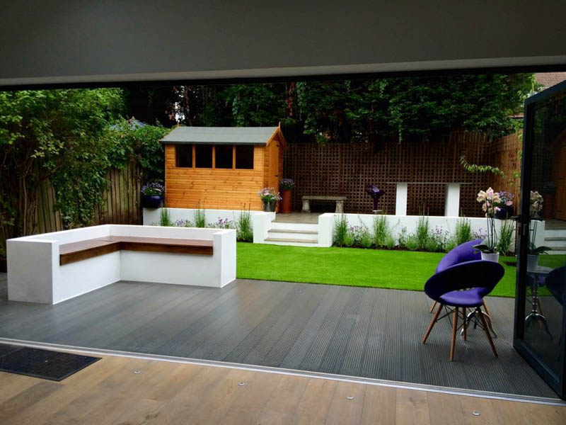 SAiGE composite decking for garden rooms-2