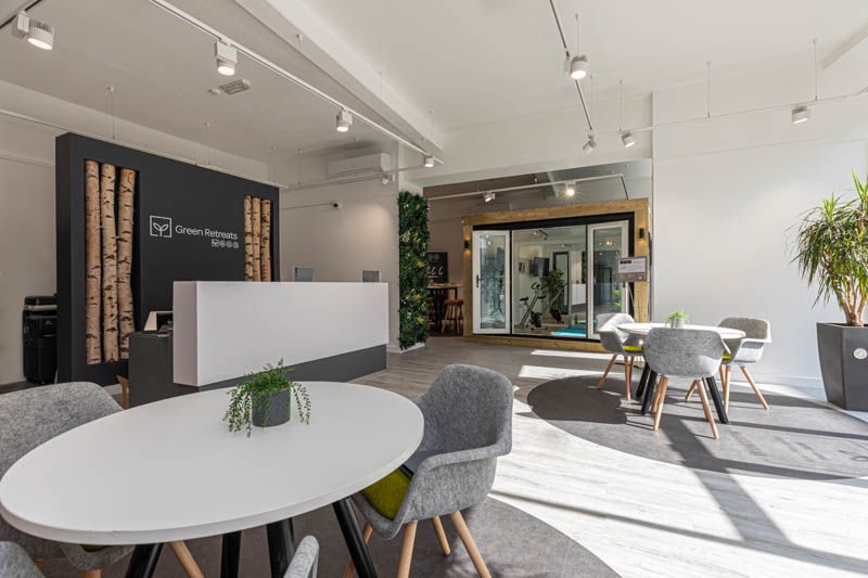 Green Retreats London Showroom