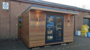12ft x 8ft Ex-display garden room by Serenity Garden Rooms