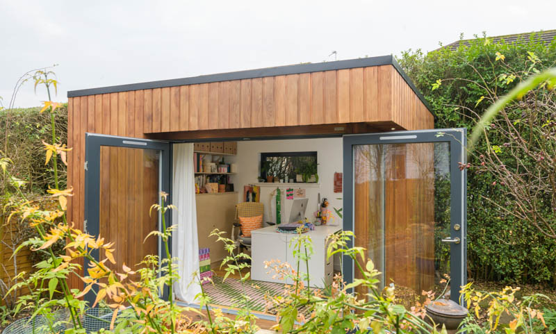 Work from home studio by JML Garden Rooms