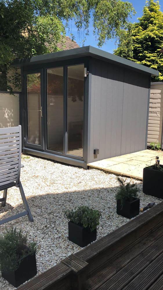 Grey Hampton garden studio