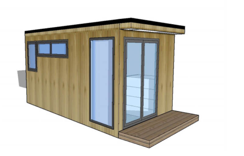 Design for a insulated workshop by Miniature Manors