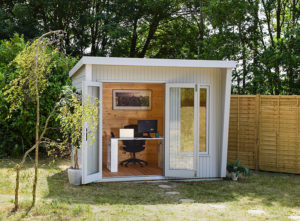 Small garden office by Crane Garden Buildings