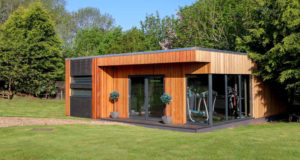 Luxury garden rooms by Swift