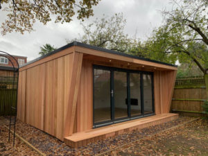 6m x 4m Insulated garden room by Hargreaves Garden Spaces