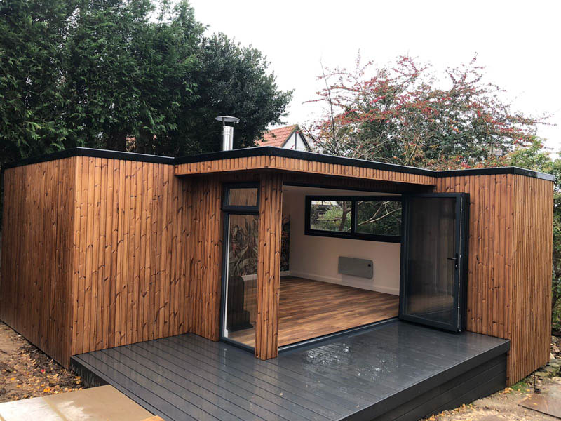 Garden room for all the family by Ark Design Build