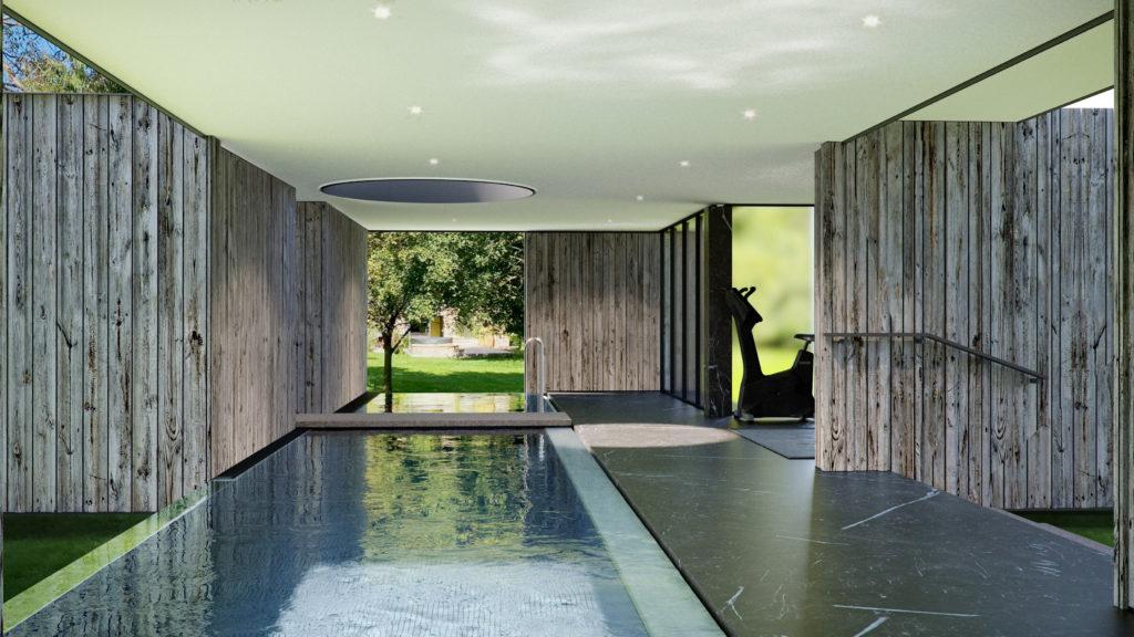 Modulr Space Pool House