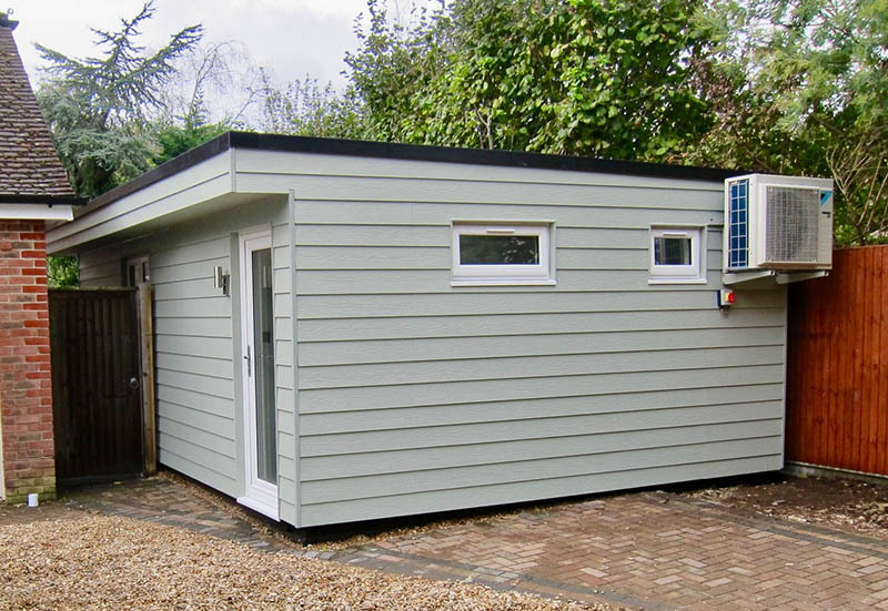 Executive Garden Room built at the side of the house