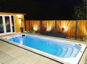 Installing a hot tub next to your garden room