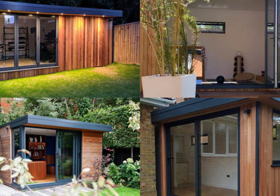 Four garden office projects by eDEN Garden Rooms that have been good for business