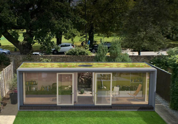 Two room garden room by Modulr Space