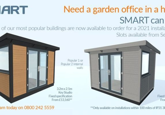 Need a garden office in a hurry