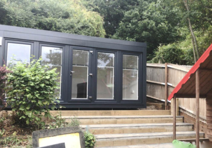 Spread the cost by renting a garden office