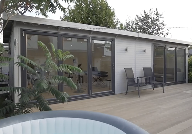 Two room SMART Garden Rooms Offices and Studios